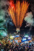 2016, New Year Countdown Party at ArkBar,Chaweng Beach, Koh Samui