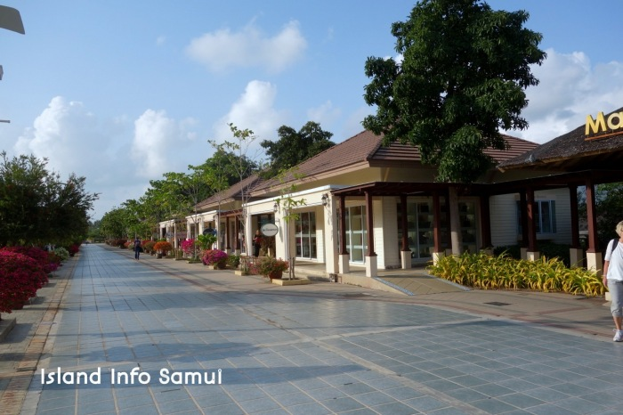 Samui International Airport -shopping arcade