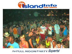 Island Info, Full Moon party Experts 4