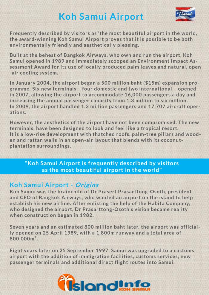 Samui Airport Info
