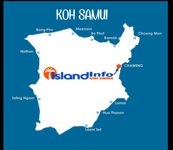 ISLAND INFO MAP