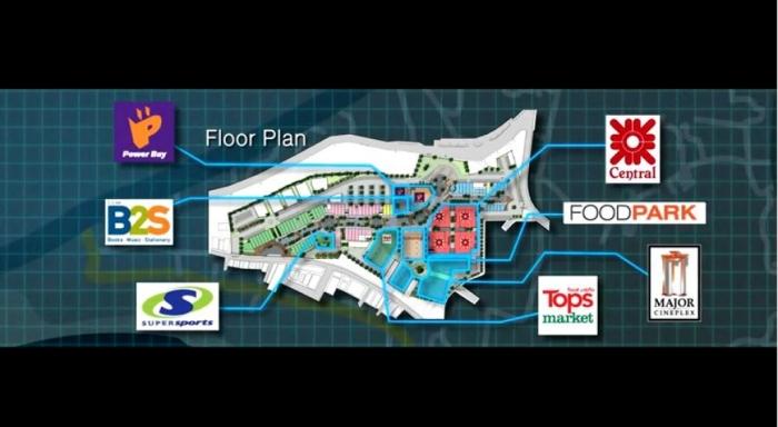 central festival floor plan