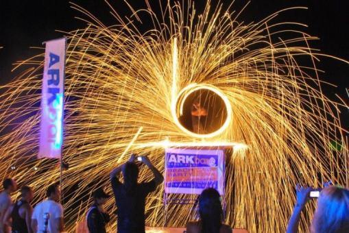 arkbar - fireshow 2