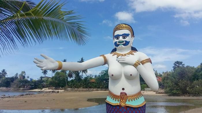 Bangrak, beach, big, buddha, ko, koh, samui, temples, beaches, tours, island, info, samui,192