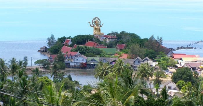 Big-Buddha-Wat-Phra-Yai -koh-samui-causeway-koh-farn