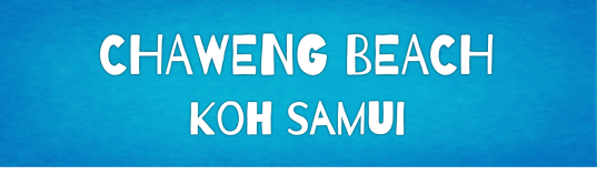 chaweng beach, koh samui, island info