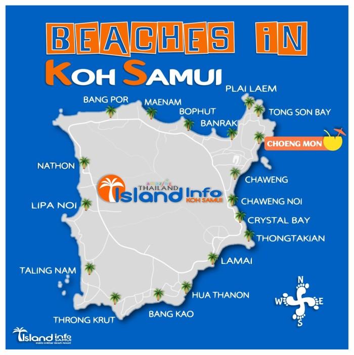 Choeng Mon, Beaches in Koh Samui, Thailand - Island Info Samui
