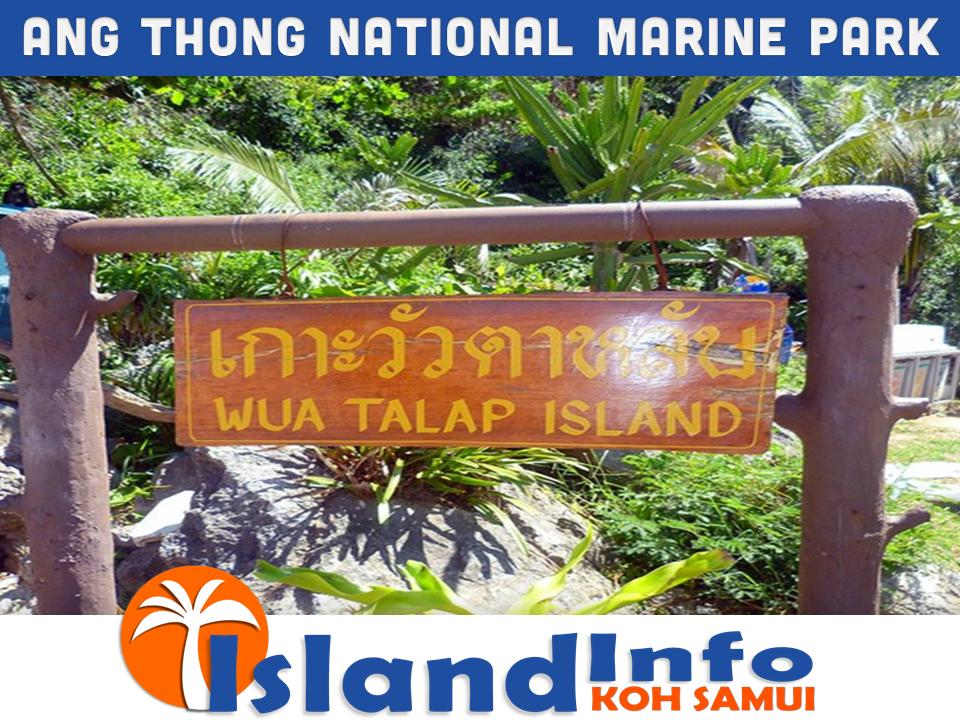 ANG THONG NATIONAL MARINE PARK – ISLAND INFO SAMUI.17 ...