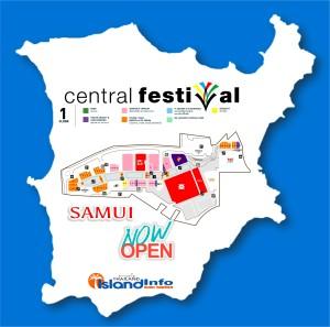CENTRAL FESTIVAL Samui - Floor Plan - Directory - Koh Samui - Island Info Samui - Thailand - FLOOR 1