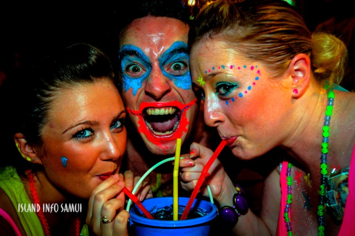 Scary at the Full Moon Party