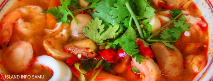 tom yum goong, island info samui, hot, chilli, danger