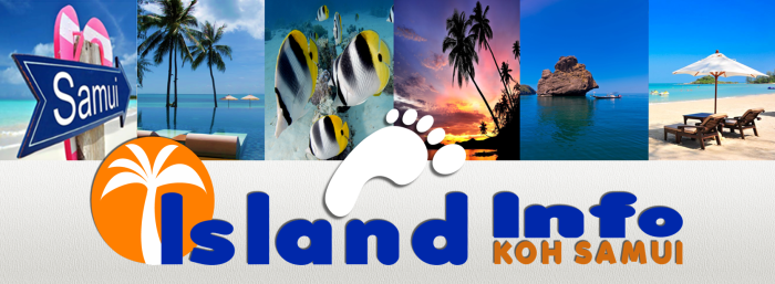 Island Info blog with foot