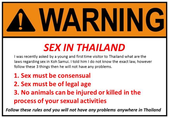 sex facts thai  on