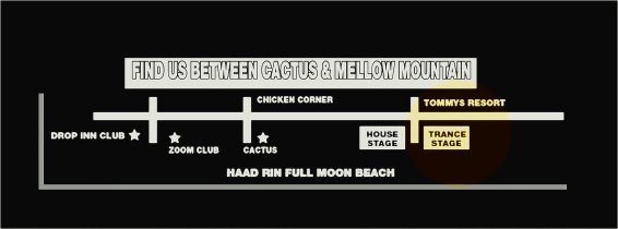 Full Moon Party-Island Info Samui-Tommy Resort-Smirnoff-Promotion Direction map (10)