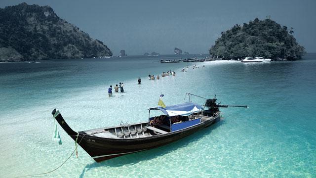 Longtail Boats, Thai Water Taxi's, Island Info Samui