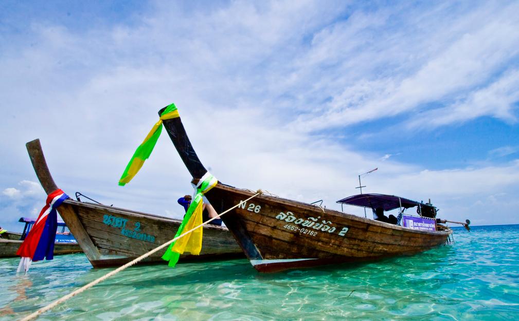 Long tail boats in thailand island info samui for Fishing boats long island