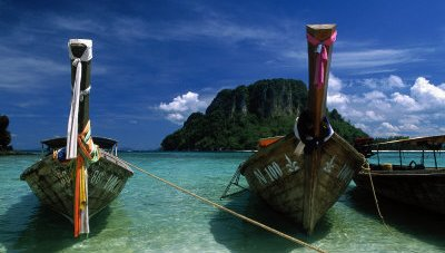 Thai long-tail boats-water taxi's-Island Info Samui (2a)