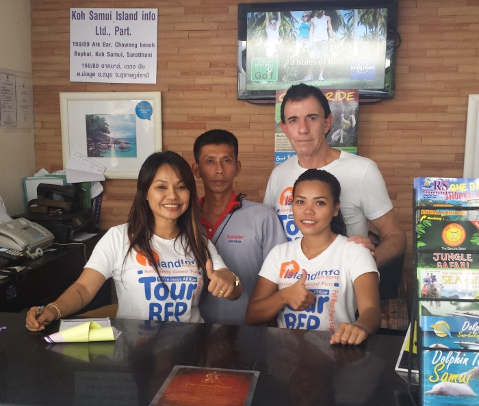 Island Info Samui Staff, .jpg