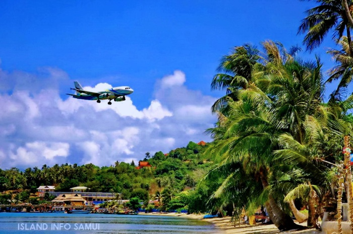 Koh Samui Airport, USM, Bangkok Airways, Travel Agents, Tours, Island Info