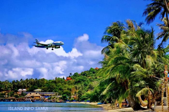 Koh Samui Airport, USM, Bangkok Airways, Travel Agents, Tours, Island Info