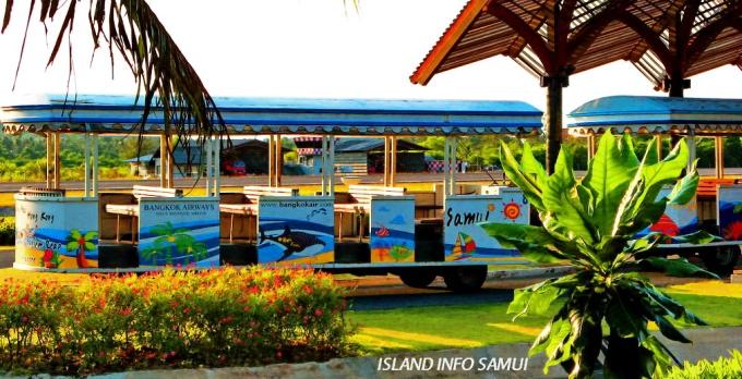 Tours, Island Info, People Movers, Koh Samui Airport, USM