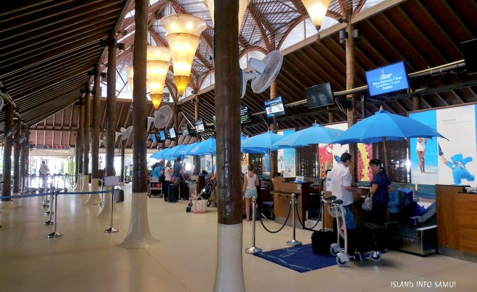 Koh Samui International Airport, USM, Tours, Travel, Island Info Samui, Thailand (a1a)