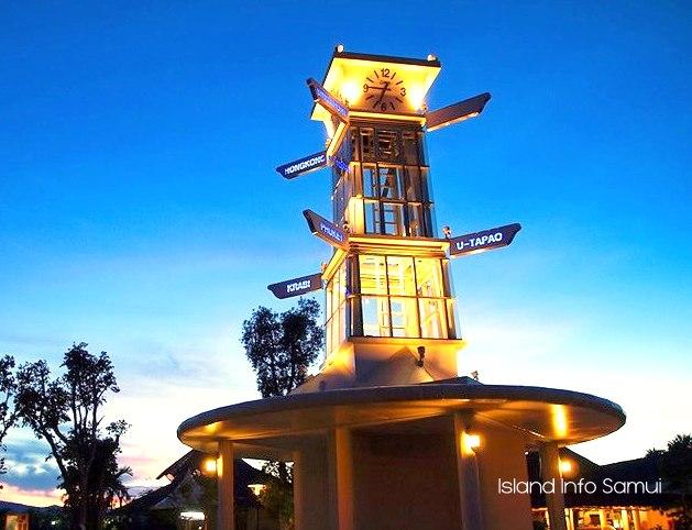 Samui International Airport-Koh Samui_Island Info Samui, USM, Clock Tower