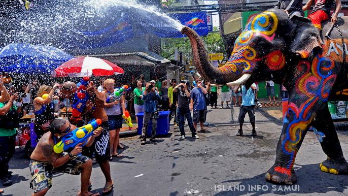 Songkran, Island Info Tours