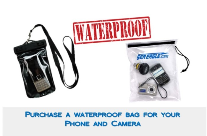 Songkran, waterproof, bag, Island Info Samui