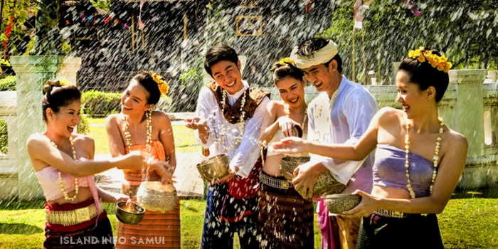 Traditional Songkran