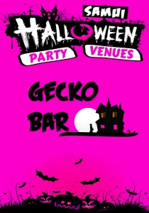 gecko, gecko bar, SOUND CLUB, SAMUI HALLOWEEN, ARKBAR, GREEN MANGO, SOLO, ICE, ISLAND INFO SAMUI, 2015