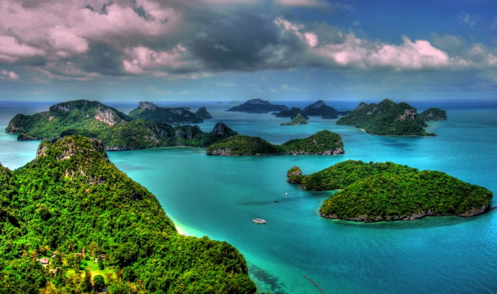 Emerald Lake – Mu Koh, Ang Thong National Marine Park ...