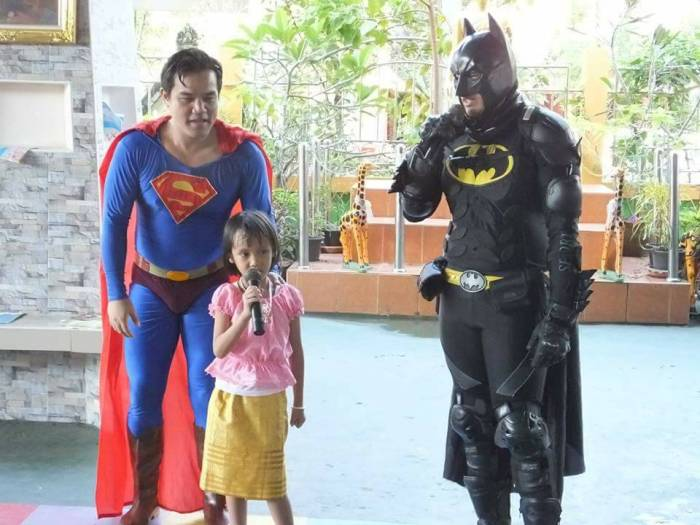 Batman at the Rajvithi Home for Girls in Bangkok