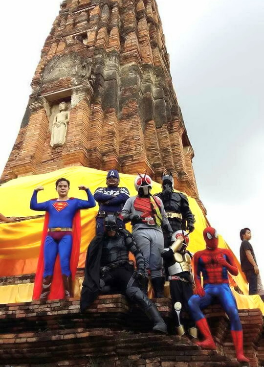 superheroes at ayugytha