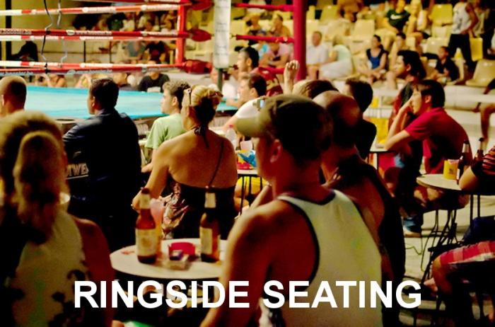 RINGSIDE, SEATING, STANDARD, VIP, Phetch Buncha-Stadium-Muay Thai-Chaweng Beach-Koh Samui-Thailand-Island Info.102A