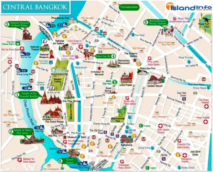 Bangkok-Central-map