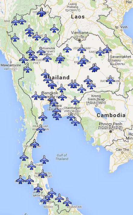 Thailand Airports Island Info Samui