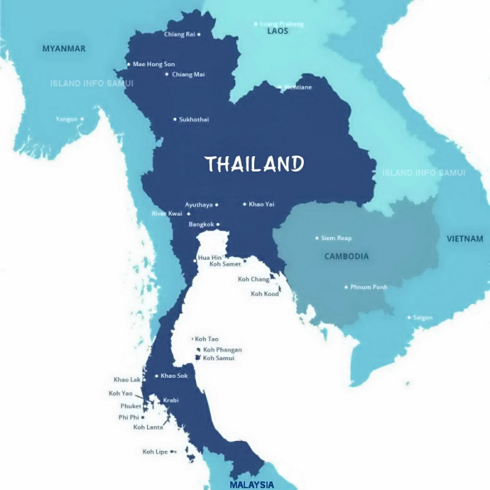 Thailand and Islands, Island Info Samui