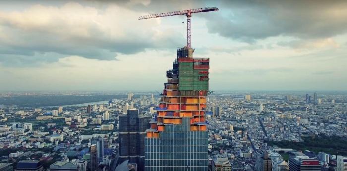 MahaNakhon, Pavillion, Bangkok, thailands, tallest building, skyscraper