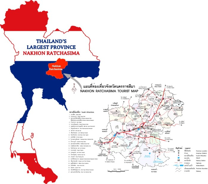 NAKHON RATCHASIMA, Thailand, largest, biggest, province, esan, esaan, isan.