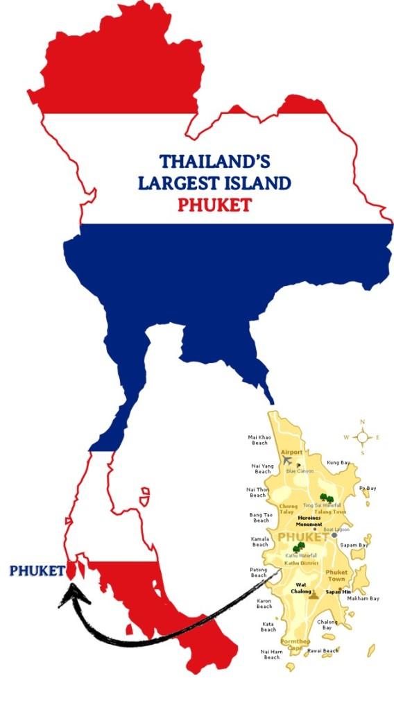 PHUKET, LARGEST, ISLAND, THAILAND, BIGGEST ISLAND.