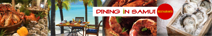 dining in samui, restaurants, eating.banner2