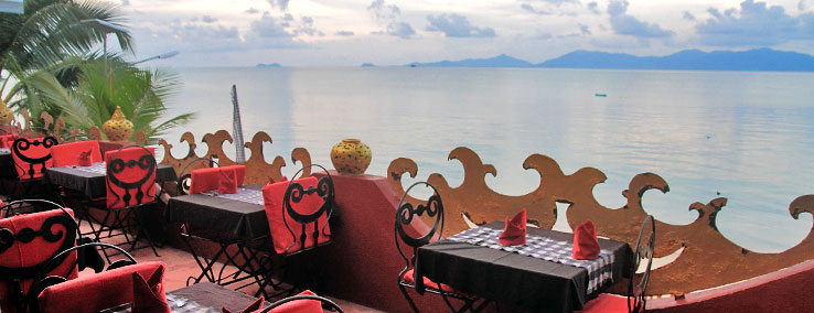 Starfish-Coffee-bophut-samui.starfish and coffee, restaurant, fishermans, village, bophut, samui, eating, restaurants, dining, thai food, fusion, best restaurants