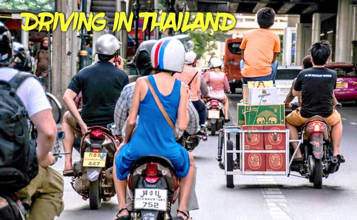 DRIVING IN THAILAND, MOTORCYCLES, EXPECT THE UNEXPECTED