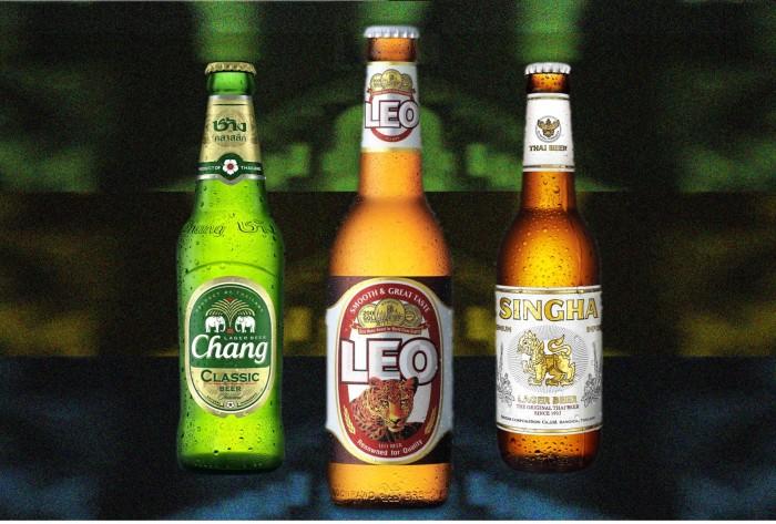 leo, chang, singha, thai, beers, best, top, top3